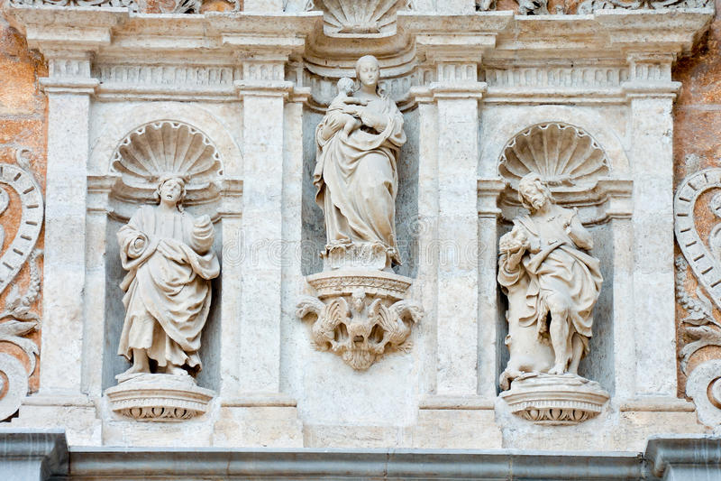 Bas Relief Texture royaltyfria bilder