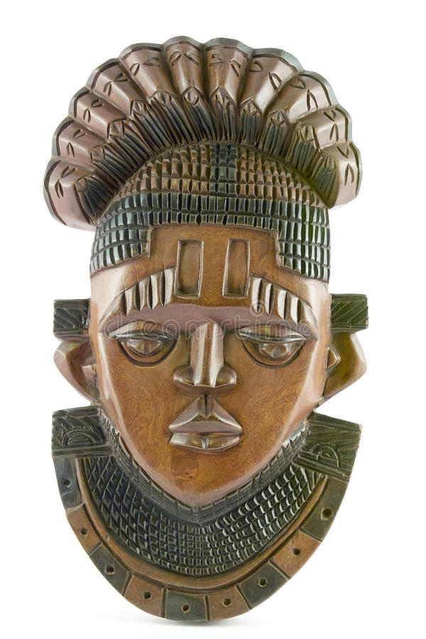 Download Mask in wood stock image. Image of head, relief, africa - 28768993