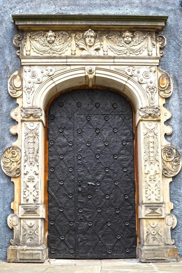 Bas-reliefs en pierre de Danzig image stock