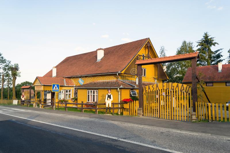 Historical Basa Inn, Transylvania, Romania royalty free stock images