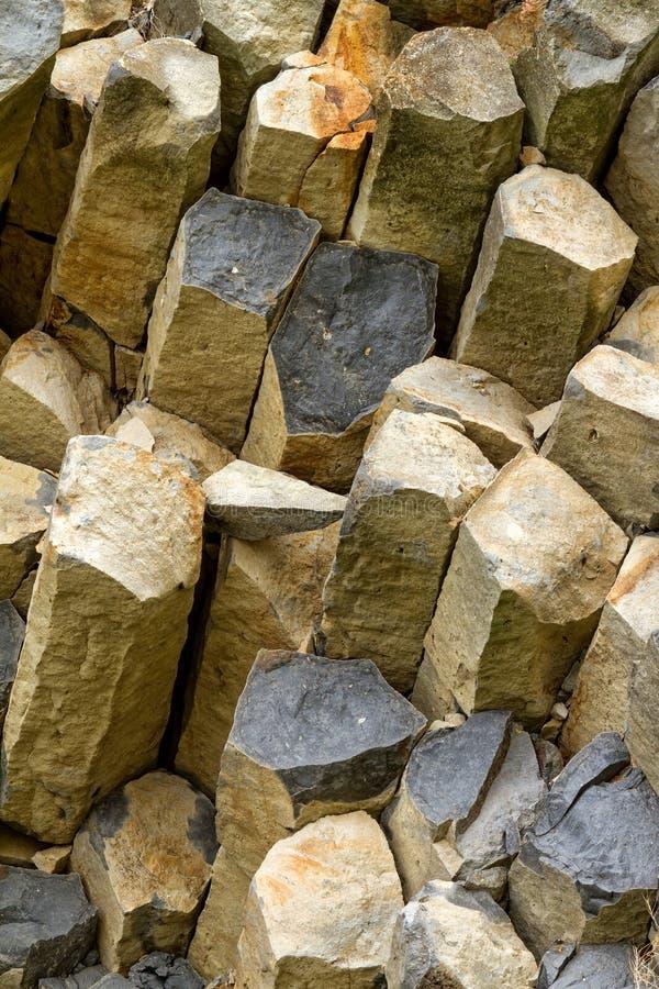 Basalt arkivbild