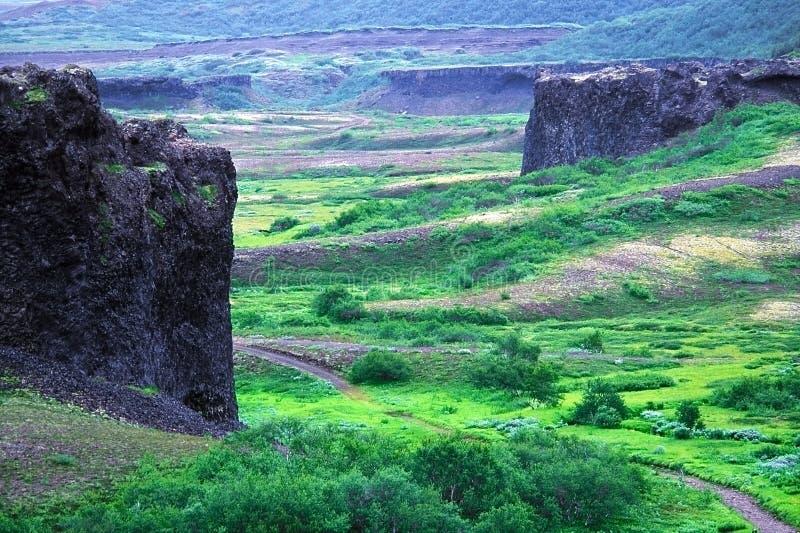 Basalt Castles royalty free stock photography