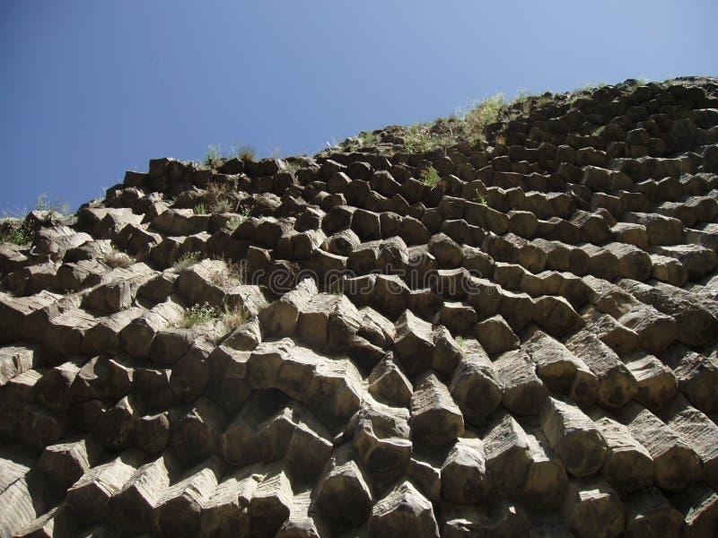 Download Basalt Cliffs stock photo. Image of crystals, garni, cliff - 226090