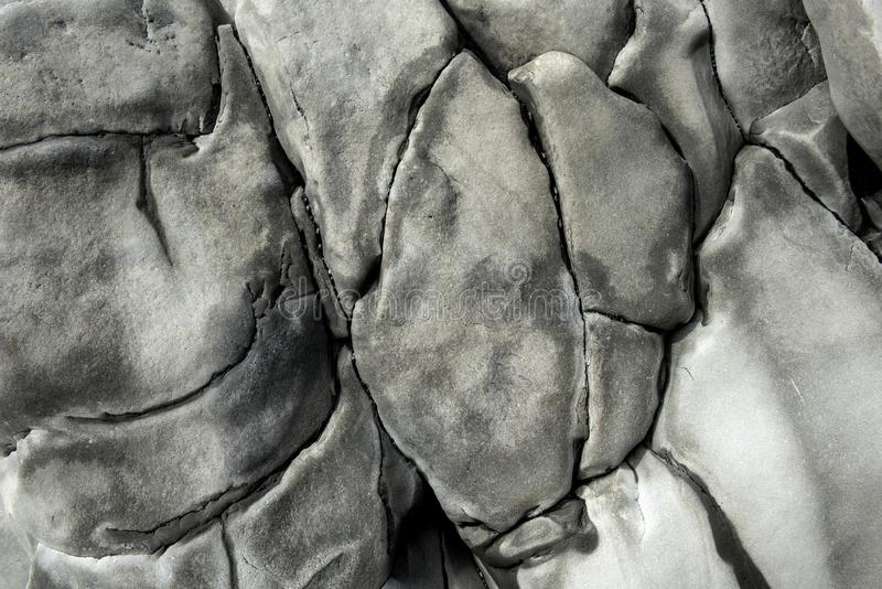 Basaltet vaggar bakgrund royaltyfri fotografi