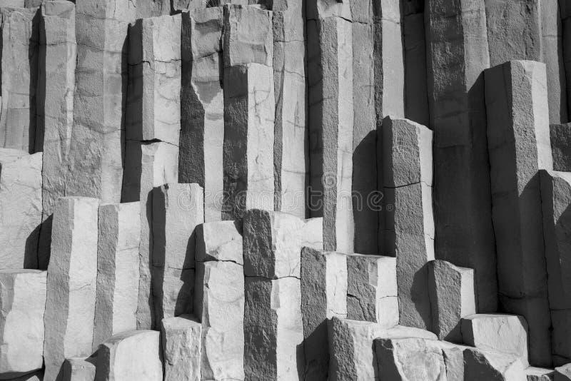 Basaltet vaggar, Vik arkivfoto