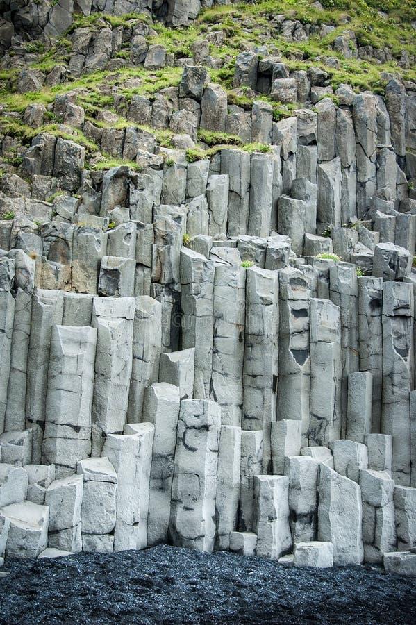 Basaltfelsen lizenzfreie stockbilder