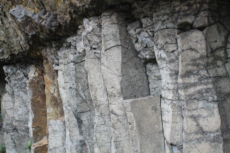 Basaltiques Orgues, Свят-мука, канталь (Франция) стоковые изображения