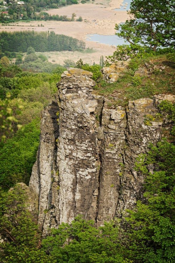 Basalto Columnar foto de stock