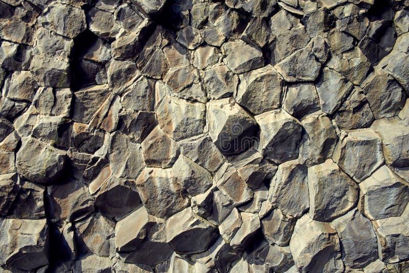 Basaltstenkolonner royaltyfri fotografi