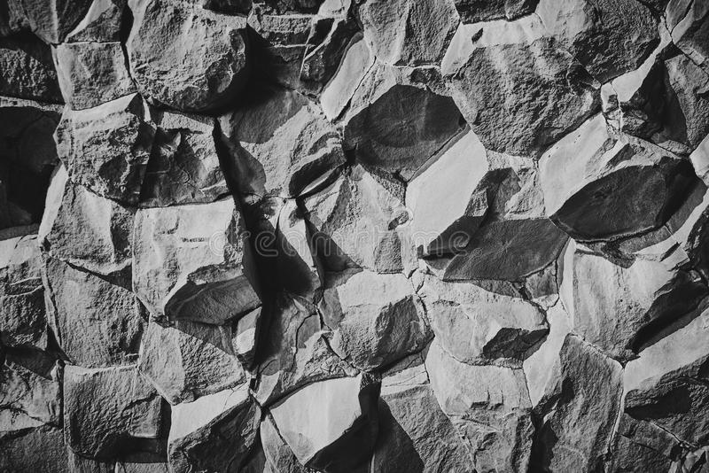 Basaltstenkolonner royaltyfri bild