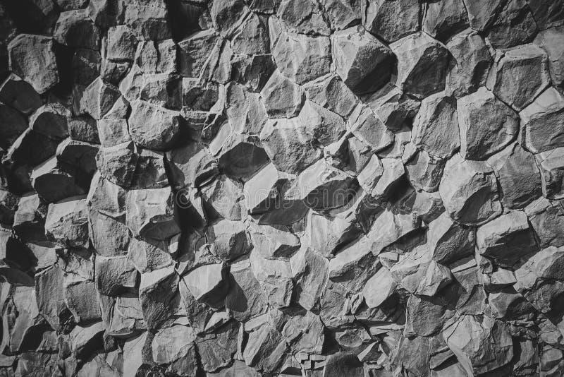 Basaltstenkolonner royaltyfria bilder