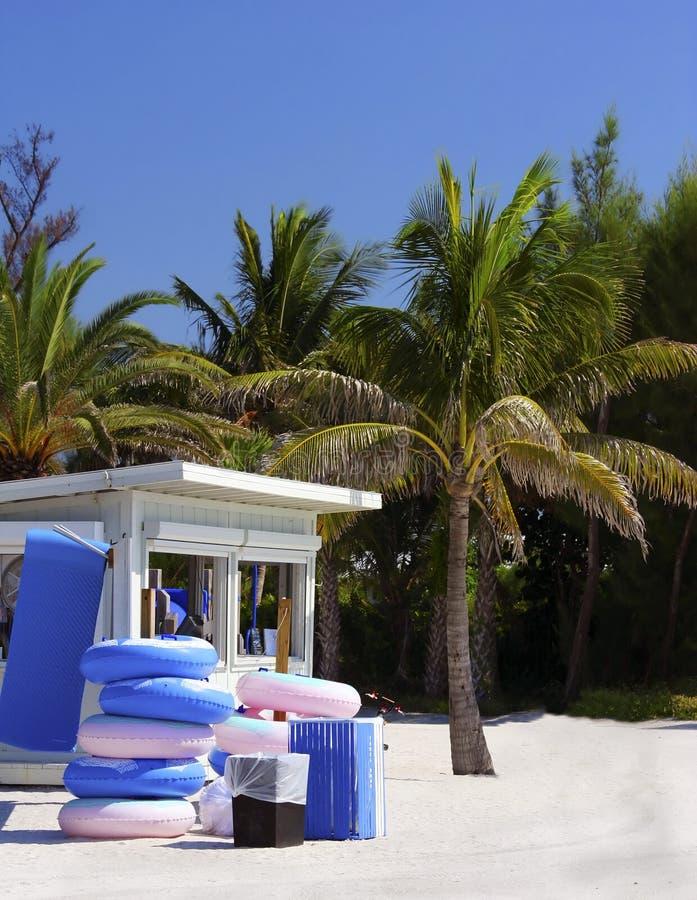 Basamento della spiaggia della Florida fotografia stock libera da diritti