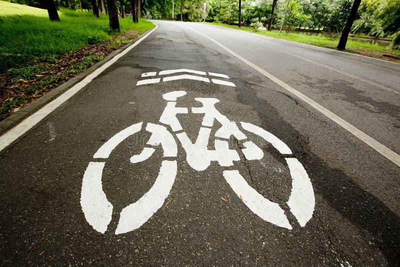 basanaviciaus自行车palanga路径街道 库存图片