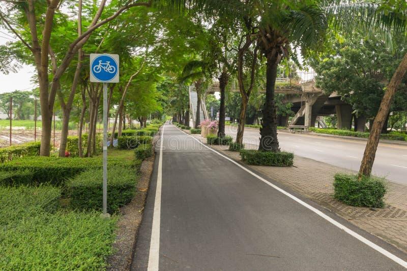 basanaviciaus rowerowa palanga ścieżki ulica zdjęcia royalty free