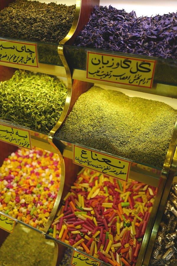 Basar i Iran arkivbilder