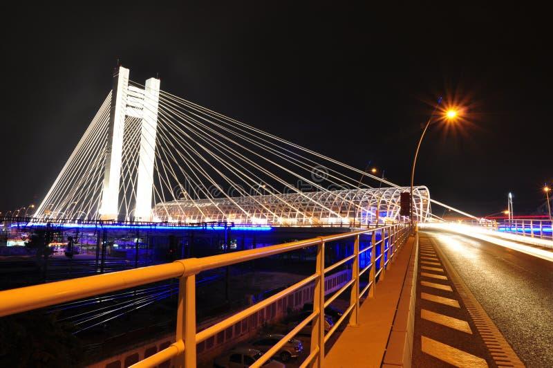 Basarab bridge, Bucharest, Romania royalty free stock images