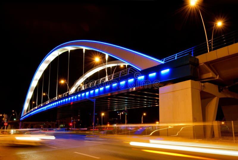 Download Basarab Bridge In The Night Stock Photo - Image of basarab, building: 24626740