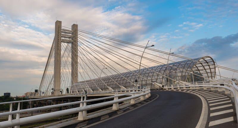 Basarab bridge stock image
