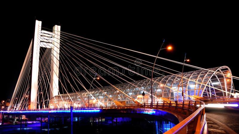 Basarab Bridge stock images