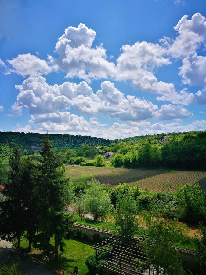 Basarbovo, Bulgarie - scène de ressort images libres de droits