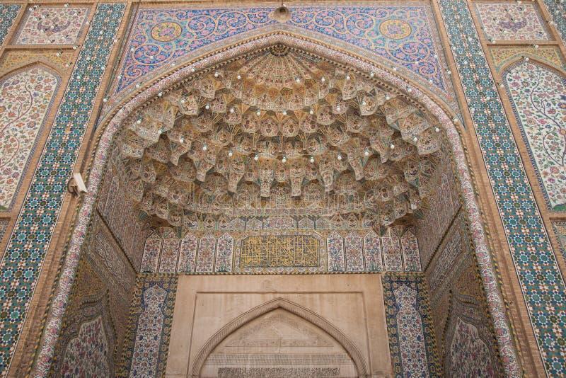 Basareingang, Shiraz, der Iran lizenzfreies stockfoto