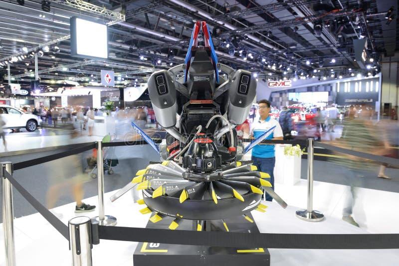 Basato sul veicolo futuristico di librazione di concetto del corredo di avventura di Lego Technic BMW R 1200 GS fotografie stock libere da diritti