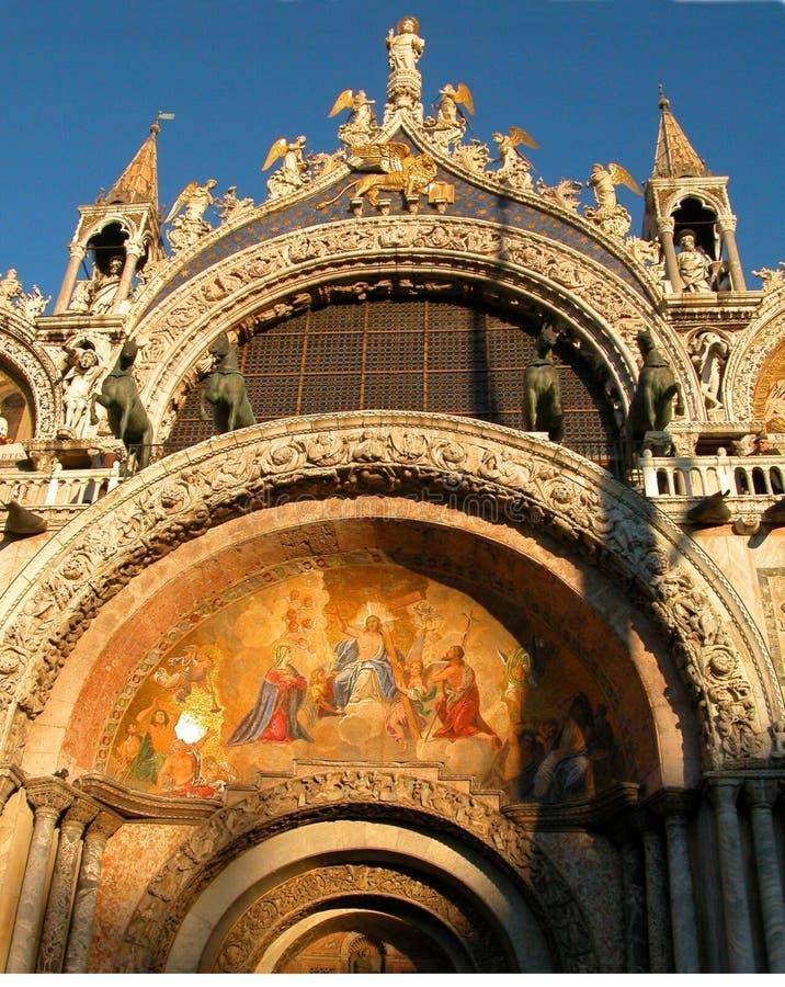bascilica Wenecji obraz stock