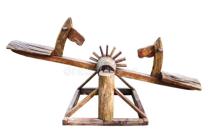 Bascule en bois image stock