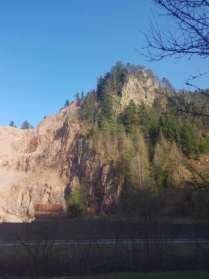 Bascule la forêt noire, Schwarzwald photographie stock libre de droits
