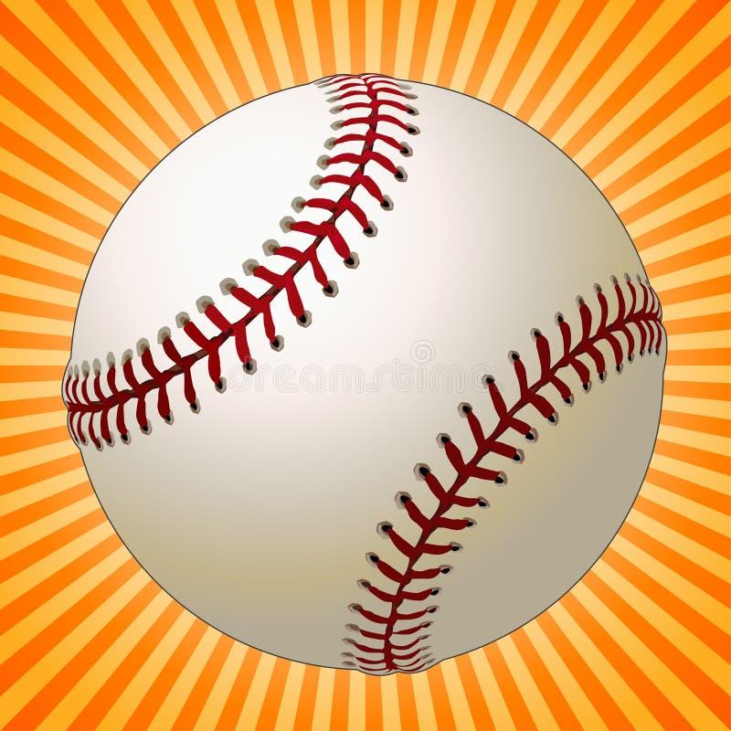 Base-ball illustration stock