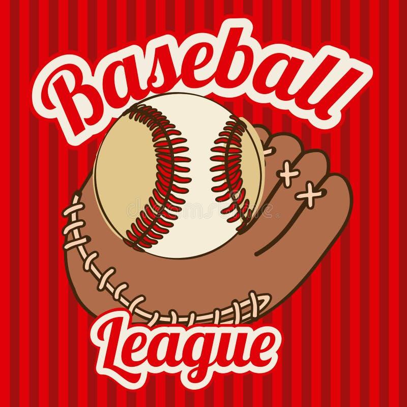 Base-ball illustration libre de droits
