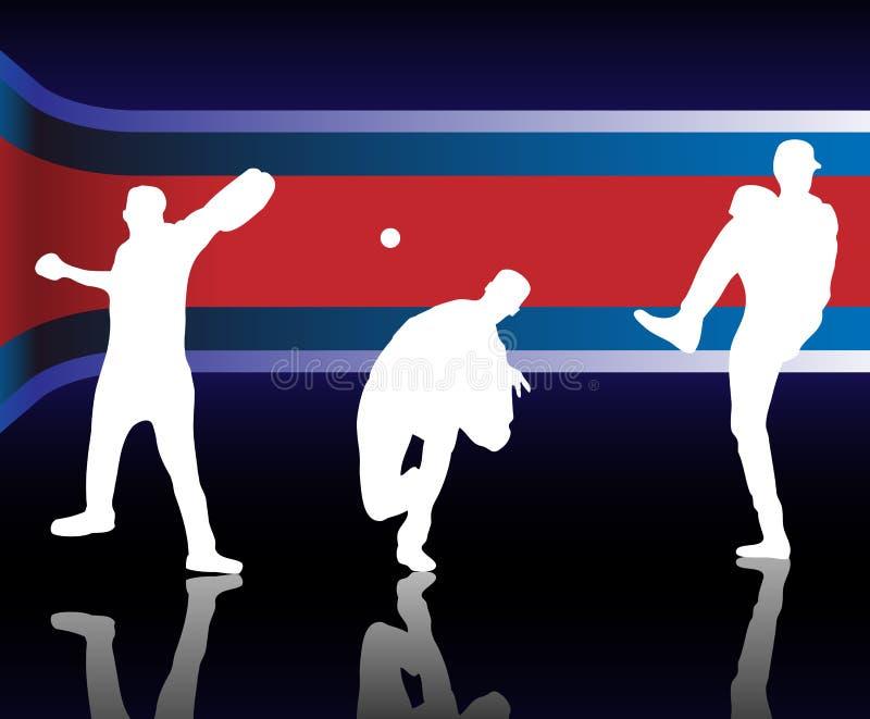 base-ball américain illustration libre de droits