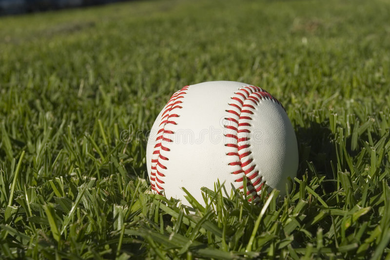 Base Ball Close up royalty free stock photos