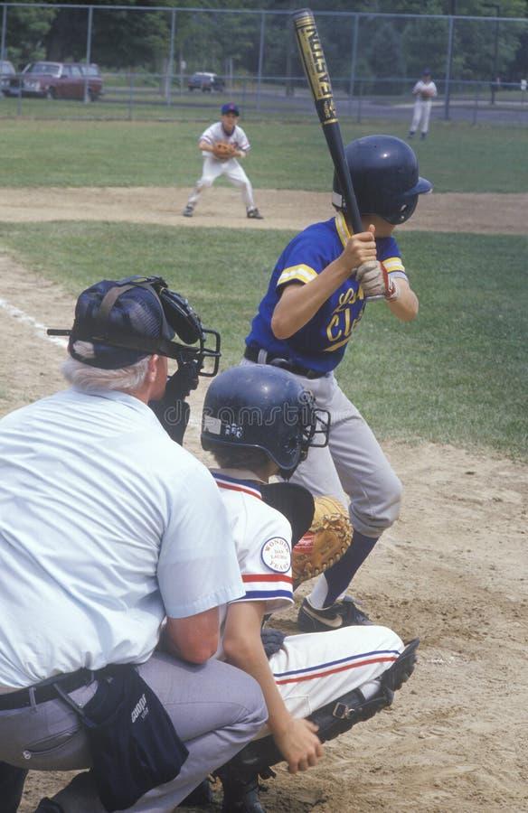Base-ball de petite ligue photos libres de droits