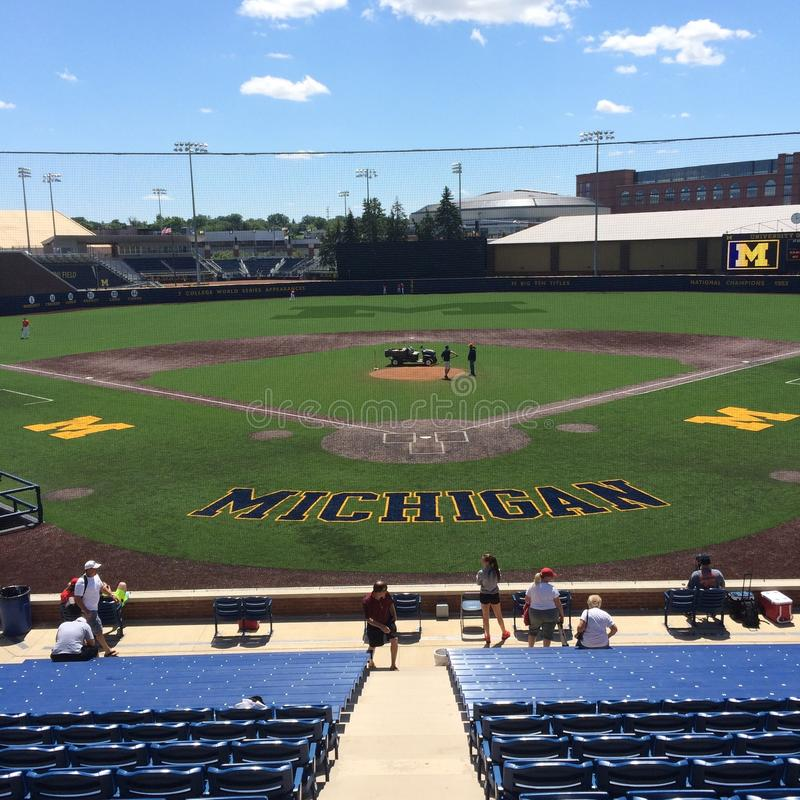 Download Base-ball du Michigan photo éditorial. Image du base - 87708691