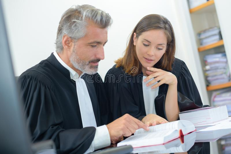 Base on the book. Court stock image