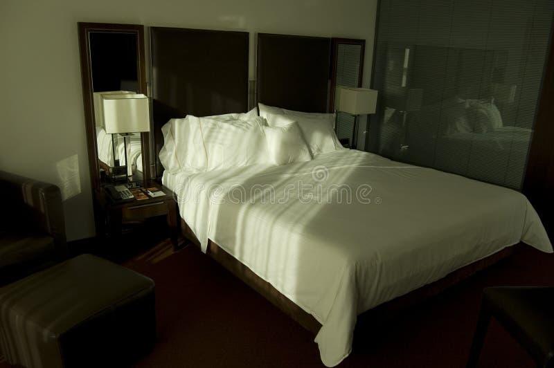 Base in camera da letto di lusso immagine stock