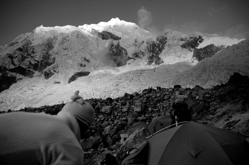 Download Base Camp stock photo. Image of huge, mountains, adventure - 2906520