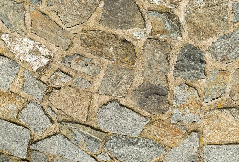 Base city many set of stones texture granite gray wide seams cementary cohesive stiff pattern base pattern cobbles royalty free stock image
