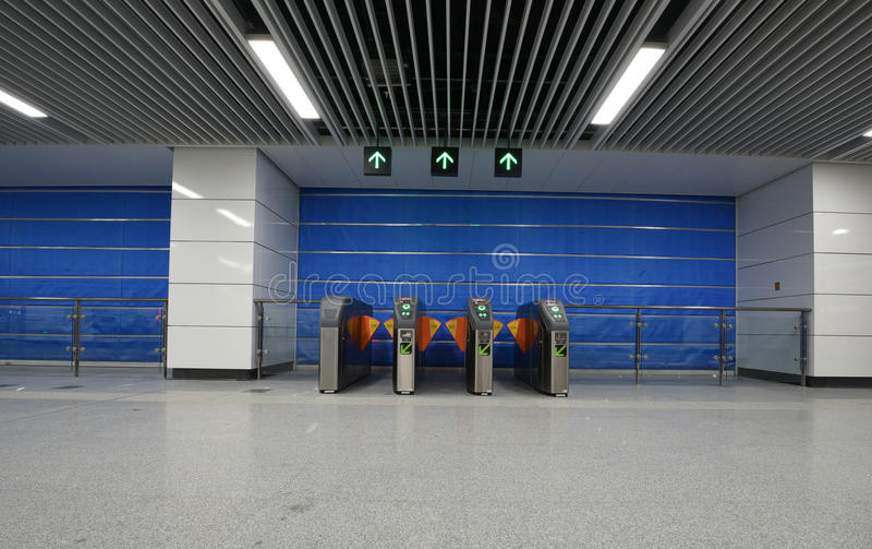 Base d'écluse de métro photographie stock libre de droits