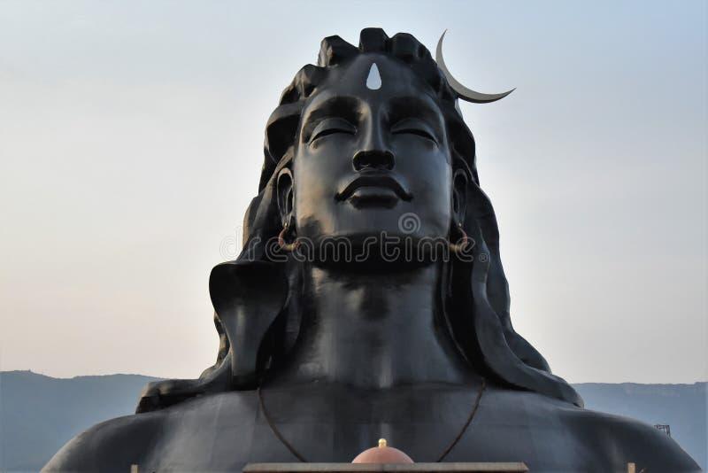 Base d'Isha, Coïmbatore, Inde images libres de droits