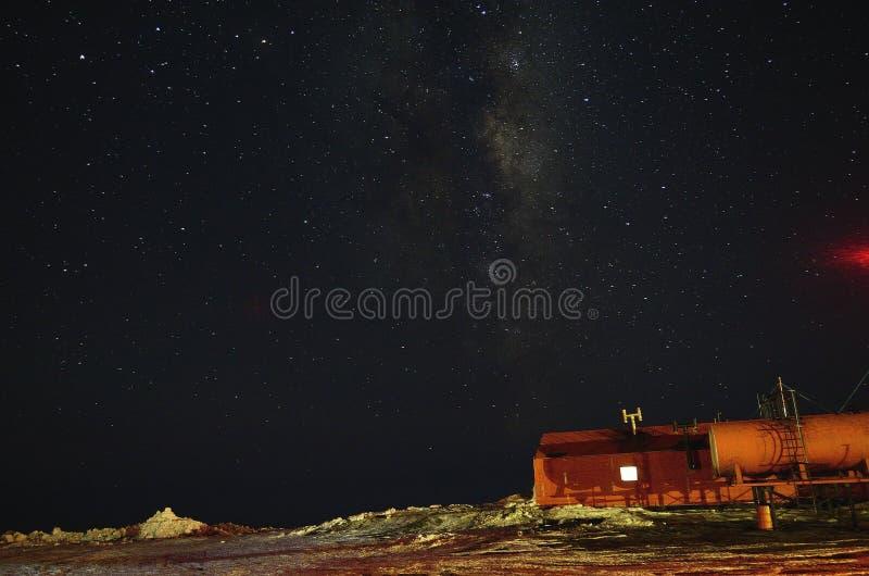 Base de Antartica, la Argentina imágenes de archivo libres de regalías