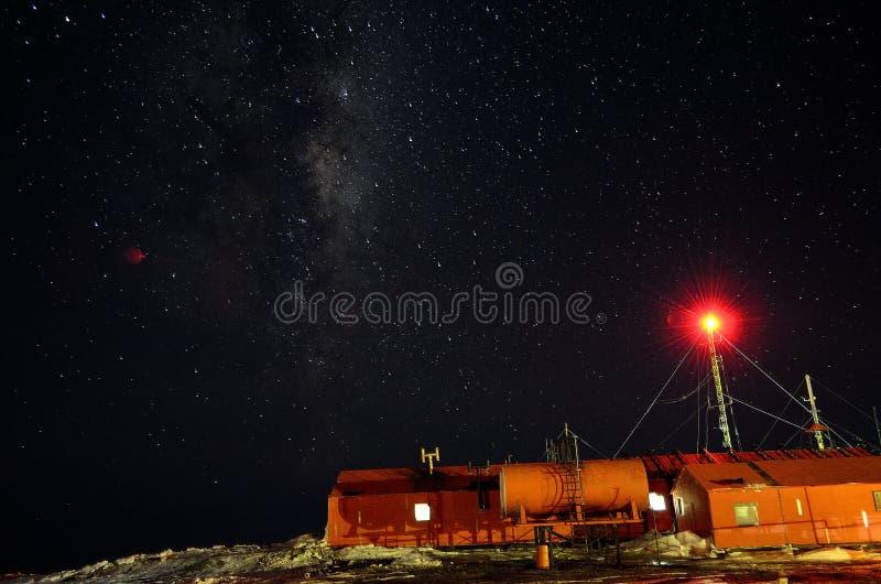 Base de Antartica, la Argentina fotografía de archivo libre de regalías