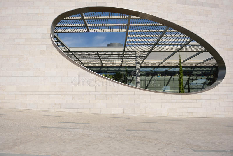 Base de Champalimaud, Lisbonne images stock