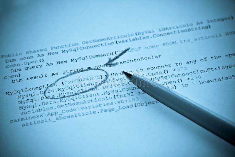 Base de datos de la programación de ordenador imagenes de archivo