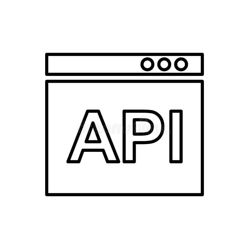Base de datos, servidor, icono del mono - vector Icono del vector de la base de datos ilustración del vector