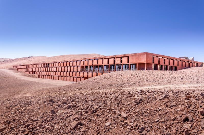 Base dell'osservatorio di Paranal fotografie stock libere da diritti