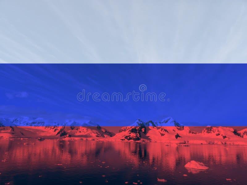 Base en el corazón del ártico foto de archivo