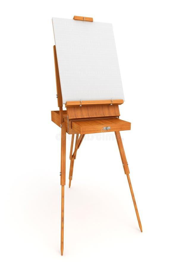 Base francesa de madera 3D libre illustration