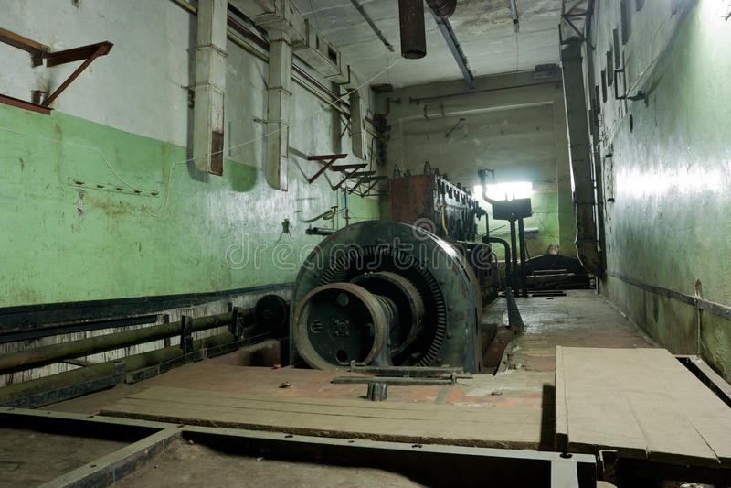Base militar soviética en Lituania foto de archivo